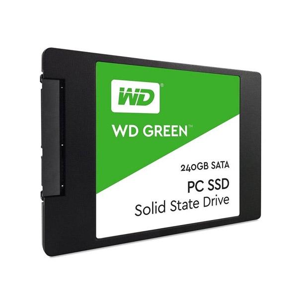 """WD 240GB Green™ SSD 2,5"""" SATA III, 540MB/465MB, 7mm WDS240G2G0A"""