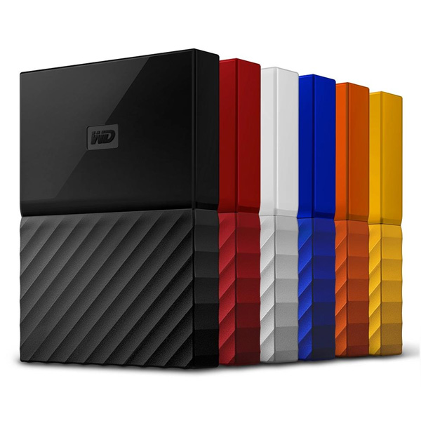 "WD My Passport 2TB  2.5"", red"