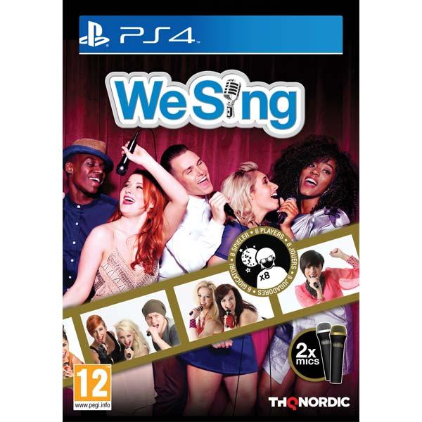 We Sing + 2 mikrofóny (Microphone Bundle) [PS4] - BAZÁR (použitý tovar)