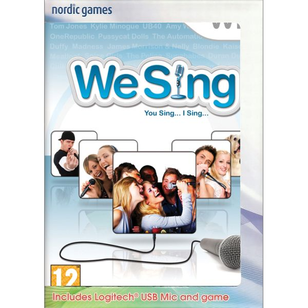 We Sing + mikrofón