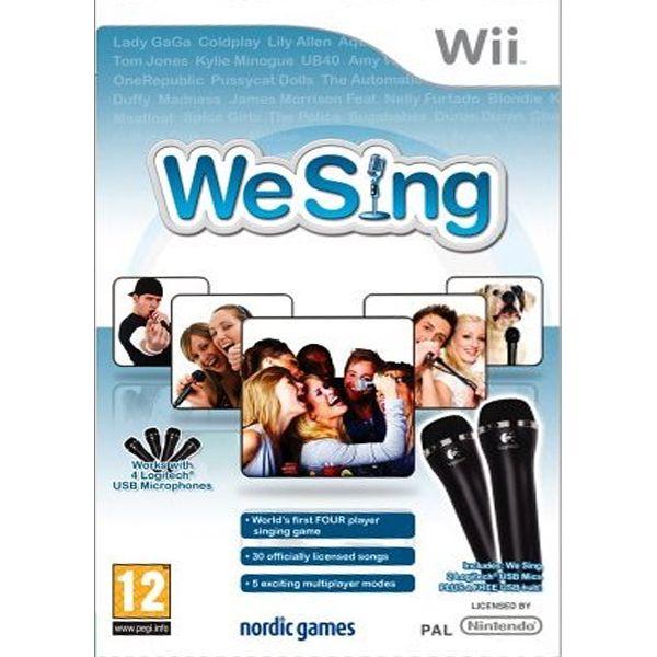 We Sing + mikrofóny