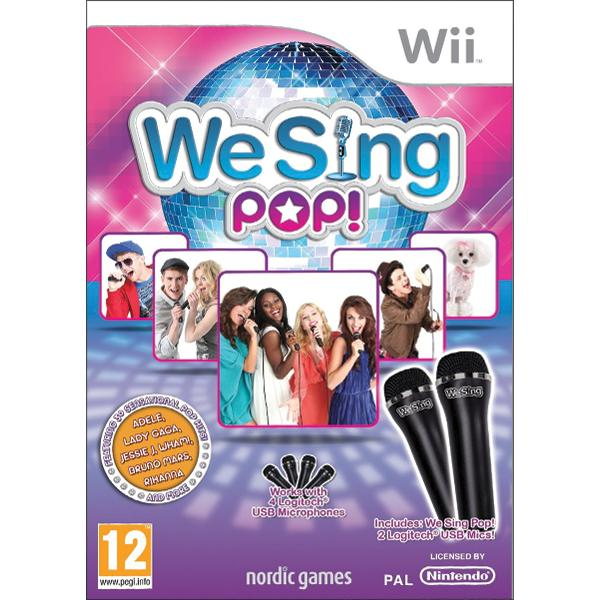 We Sing: Pop! + mikrofóny