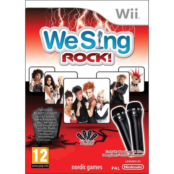 We Sing: Rock! + mikrofóny