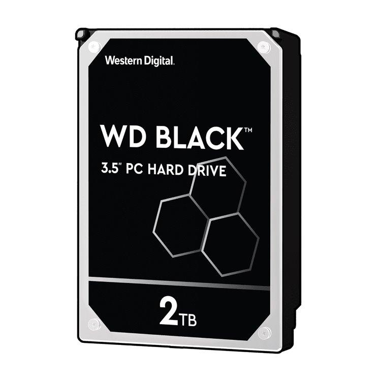 """Western Digital HDD Black, 2TB, 64MB Cache, 7200 RPM, 3.5"""" (WD2003FZEX) WD2003FZEX"""