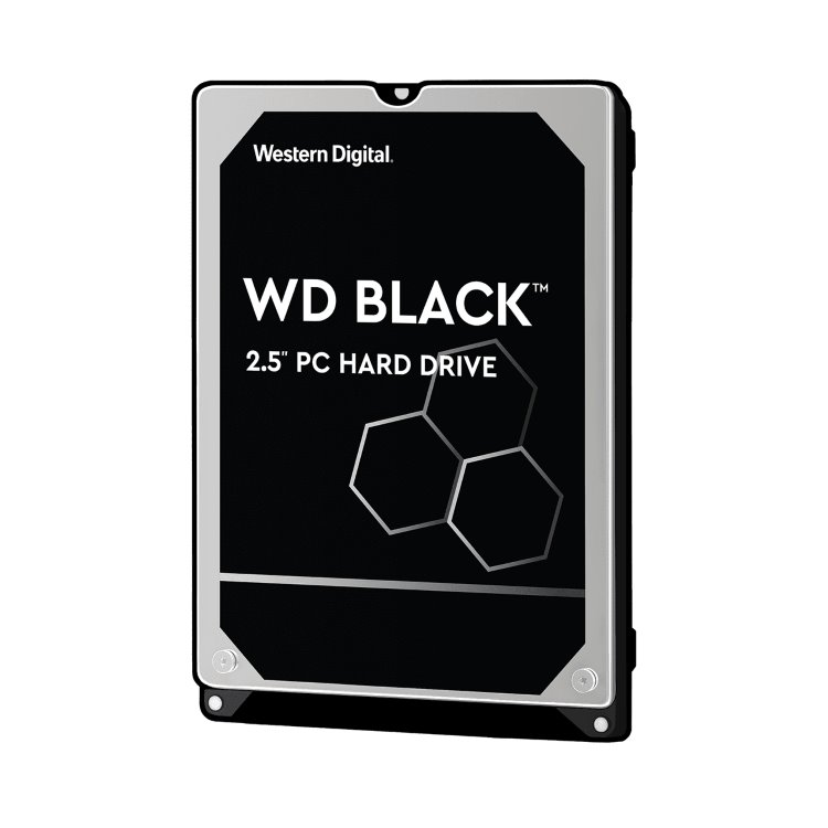 "Western Digital HDD Black, 500GB, 32MB Cache, 7200 RPM, 2.5"" (WD5000LPLX) WD5000LPLX"