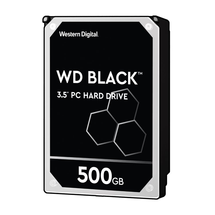 "Western Digital HDD Black, 500GB, 64MB Cache, 7200 RPM, 3.5"" (WD5003AZEX) WD5003AZEX"