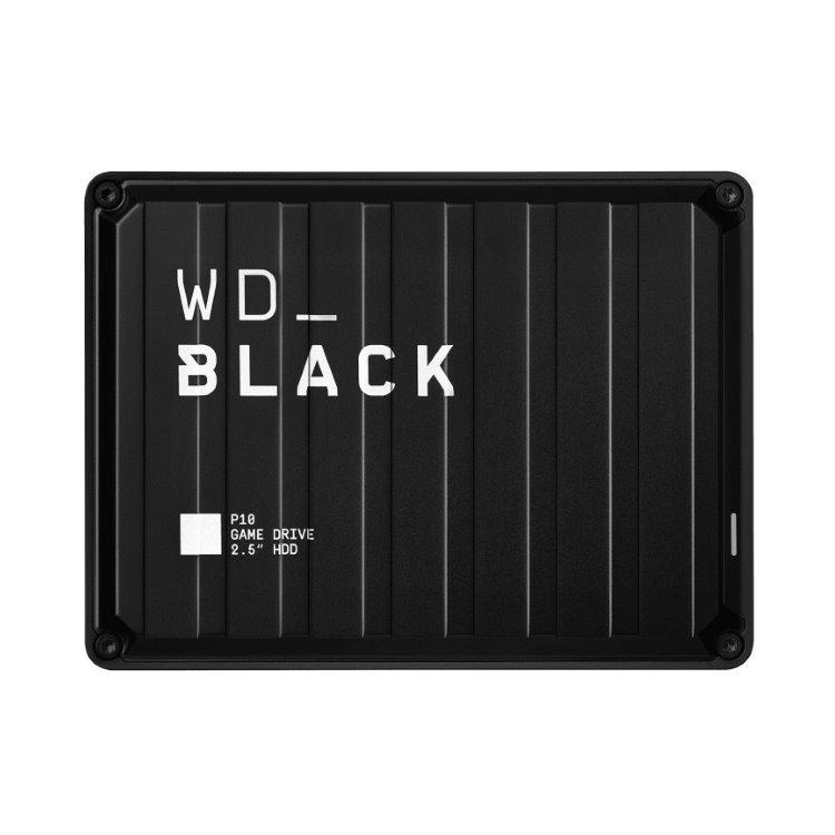 Western Digital HDD Black P10 Game Drive, 4TB (WDBA3A0040BBK-WESN) WDBA3A0040BBK-WESN