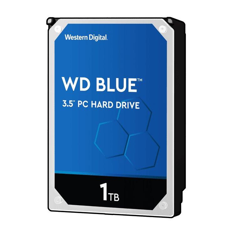 """Western Digital HDD Blue, 1TB, 64MB Cache, 5400 RPM, 3.5"""" (WD10EZRZ) WD10EZRZ"""