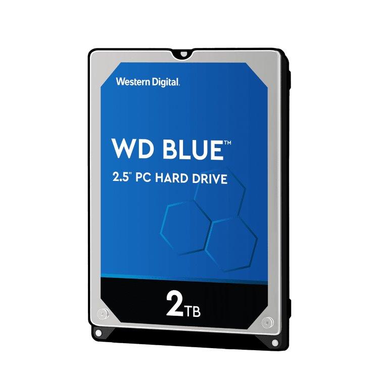 "Western Digital HDD Blue, 2TB, 128MB Cache, 5400 RPM, 2.5"" (WD20SPZX) WD20SPZX"