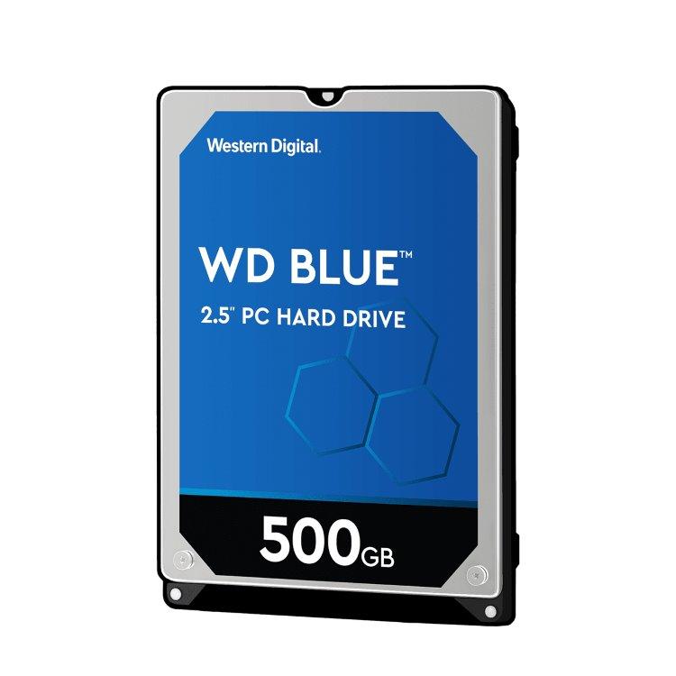 """Western Digital HDD Blue, 500GB, 16MB Cache, 5400 RPM, 2.5"""" (WD5000LPCX) WD5000LPCX"""