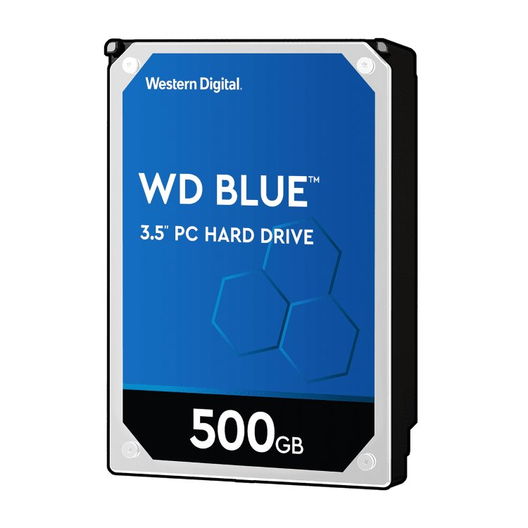 "Western Digital HDD Blue, 500GB, 64MB Cache, 5400 RPM, 3.5"" (WD5000AZRZ) WD5000AZRZ"