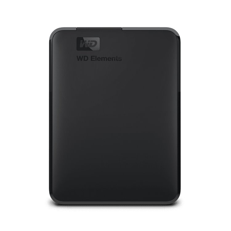 Western Digital HDD Elements Portable, 5TB, USB 3.0 (WDBU6Y0050BBK-WESN) WDBU6Y0050BBK-WESN