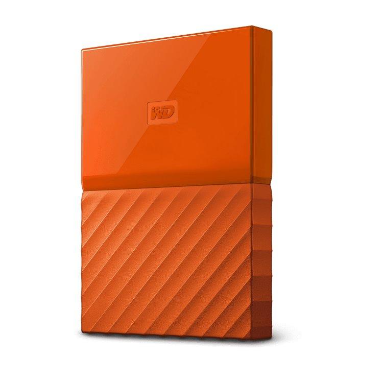 Western Digital HDD My Passport, 1TB, USB 3.0, Orange (WDBYNN0010BOR-WESN) WDBYNN0010BOR-WESN