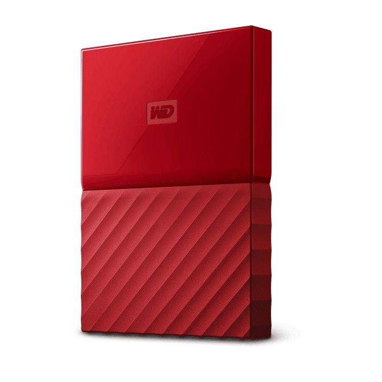 Western Digital HDD My Passport, 1TB, USB 3.0, Red (WDBYNN0010BRD-WESN) WDBYNN0010BRD-WESN