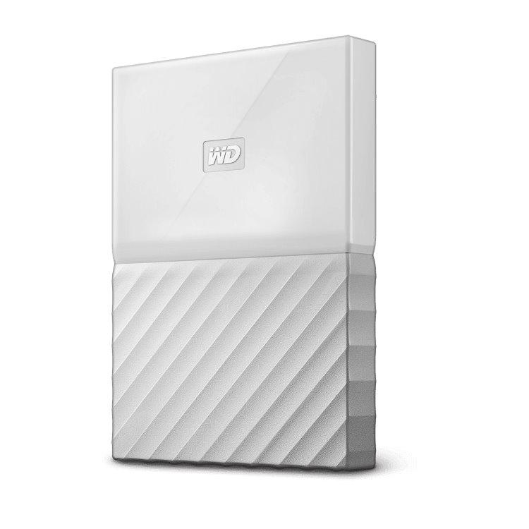 Western Digital HDD My Passport, 1TB, USB 3.0, White (WDBYNN0010BWT-WESN) WDBYNN0010BWT-WESN