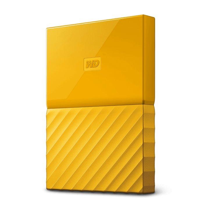 Western Digital HDD My Passport, 1TB, USB 3.0, Yellow (WDBYNN0010BBK-WESN) WDBYNN0010BYL-WESN
