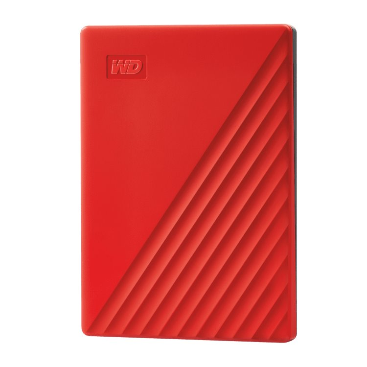 Western Digital HDD My Passport, 2TB, USB 3.0, Red (WDBYVG0020BRD-WESN) WDBYVG0020BRD-WESN
