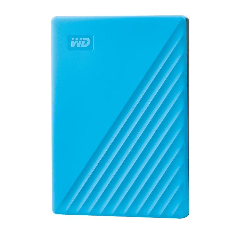 Western Digital HDD My Passport, 4TB, USB 3.0, Blue (WDBPKJ0040BBL-WESN) WDBPKJ0040BBL-WESN