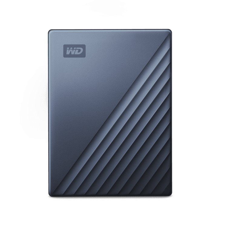 Western Digital HDD My Passport Ultra, 2TB, USB-C, Grey (WDBC3C0020BBL-WESN) WDBC3C0020BBL-WESN