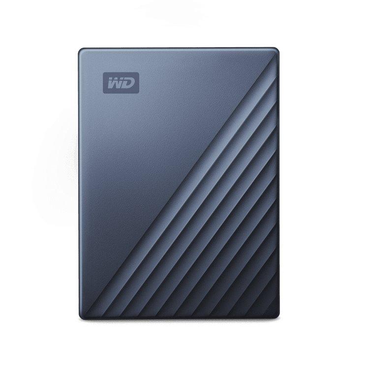 Western Digital HDD My Passport Ultra, 5TB, USB-C, Grey (WDBFTM0050BBL-WESN) WDBFTM0050BBL-WESN