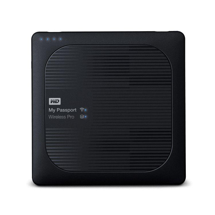 Western Digital HDD My Passport Wireless Pro, 2TB, USB 3.0 (WDBP2P0020BBK-EESN) WDBP2P0020BBK-EESN