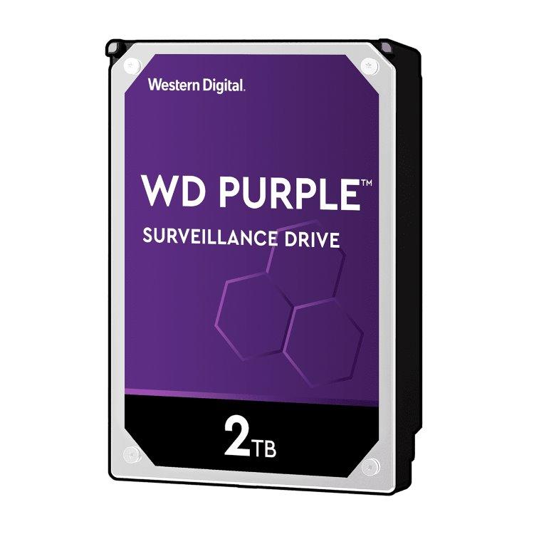 """Western Digital HDD Purple, 2TB, 64MB Cache, 5400 RPM, 3.5"""" (WD20PURZ) WD20PURZ"""
