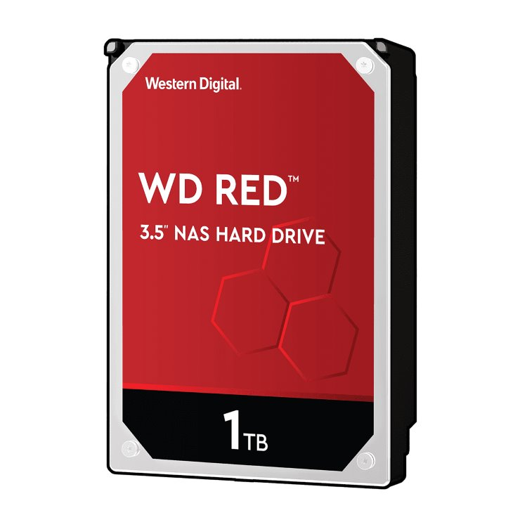"""Western Digital HDD Red, 1TB, 64MB Cache, 5400 RPM, 3.5"""" (WD10EFRX) WD10EFRX"""
