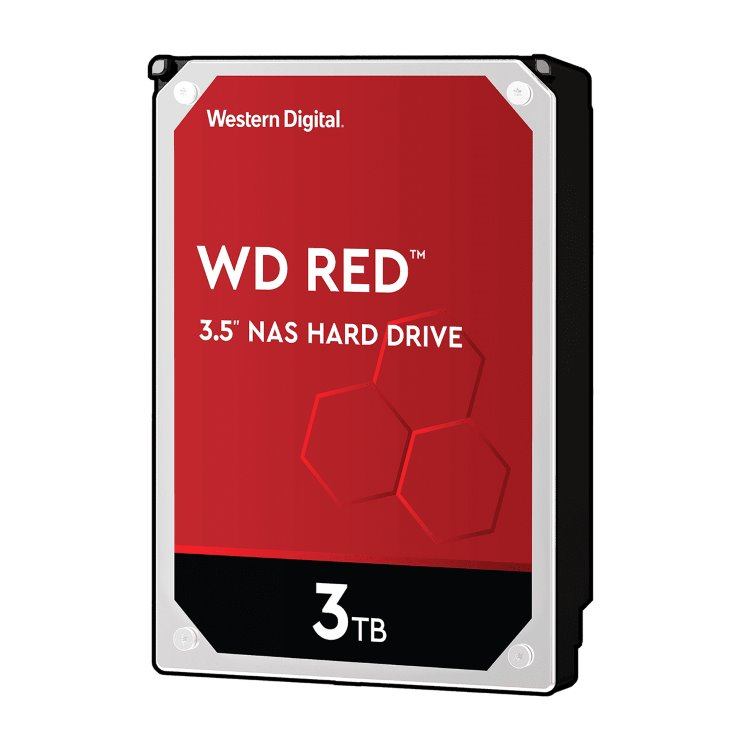"""Western Digital HDD Red, 3TB, 64MB Cache, 5400 RPM, 3.5"""" (WD30EFRX) WD30EFRX"""