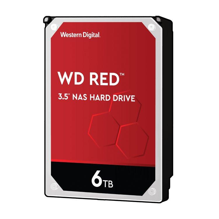 """Western Digital HDD Red, 6TB, 256MB Cache, 5400 RPM, 3.5"""" (WD60EFAX) WD60EFAX"""