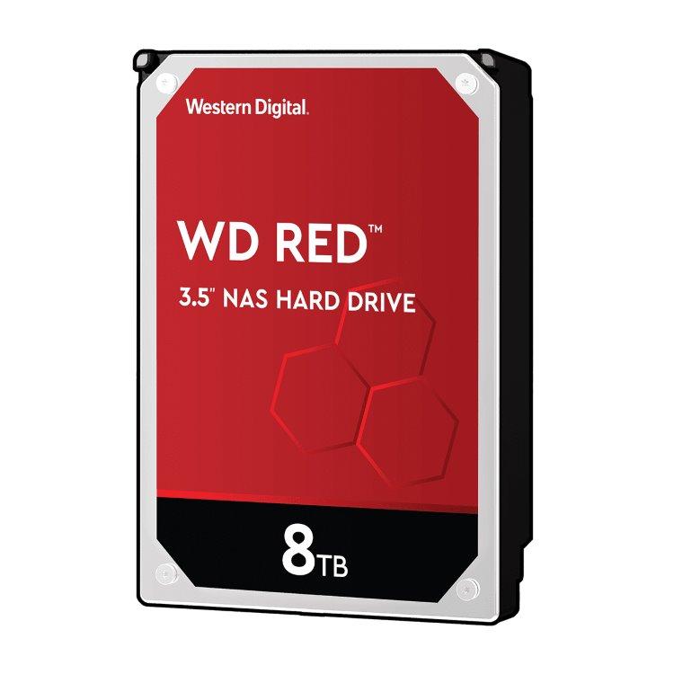 """Western Digital HDD Red, 8TB, 256MB Cache, 5400 RPM, 3.5"""" (WD80EFAX) WD80EFAX"""