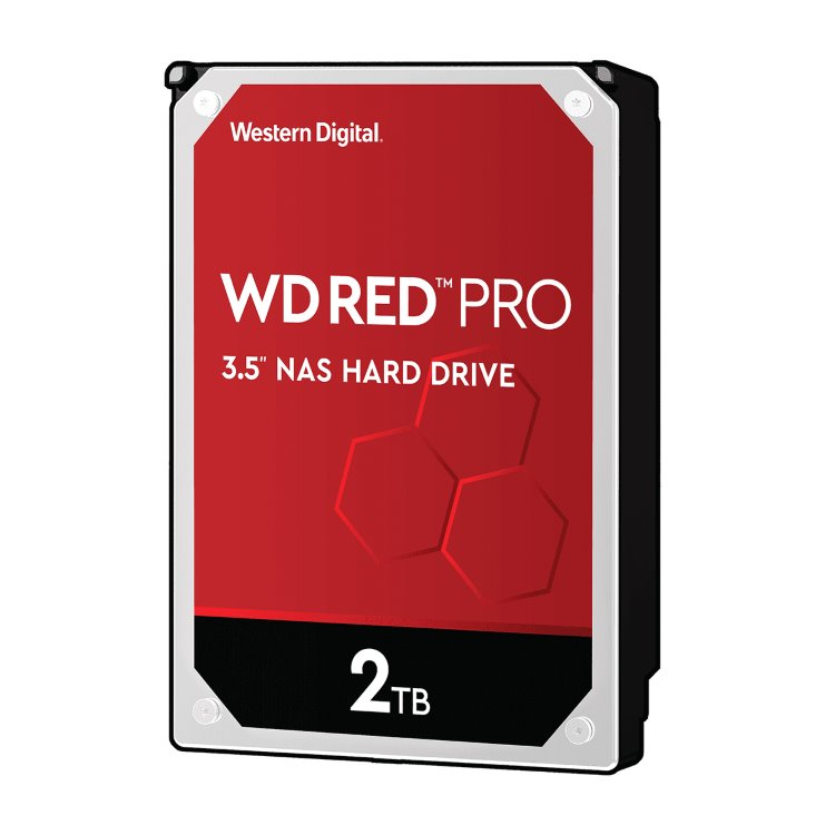 "Western Digital HDD Red Pro, 2TB, 64MB Cache, 7200 RPM, 3.5"" (WD2002FFSX) WD2002FFSX"