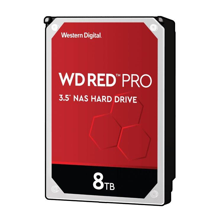 "Western Digital HDD Red Pro, 8TB, 256MB Cache, 7200 RPM, 3.5"" (WD8003FFBX) WD8003FFBX"