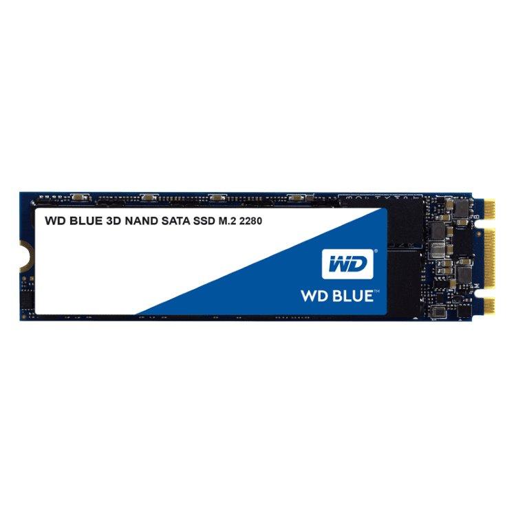 Western Digital SSD Blue, 500GB, M.2 - rýchlosť 560/530 MB/s (WDS500G2B0B) WDS500G2B0B