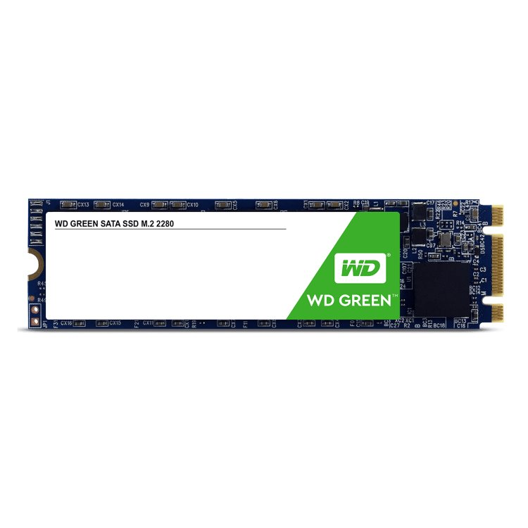 Western Digital SSD Green, 240GB, M.2 - rýchlosť 545 MB/s (WDS240G2G0B)