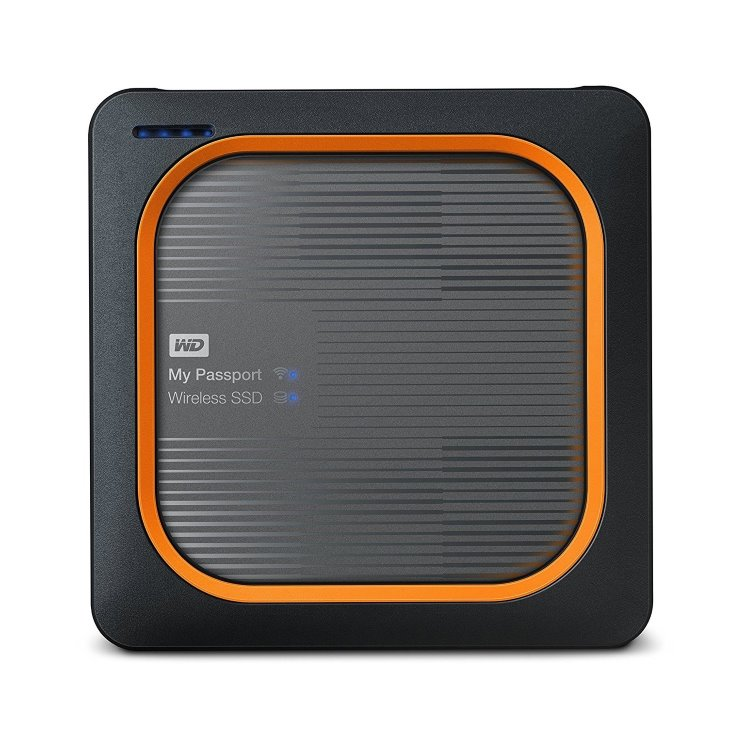 Western Digital SSD My Passport Wireless, 500GB, USB 3.0 (WDBAMJ5000AGY-EESN) WDBAMJ5000AGY-EESN
