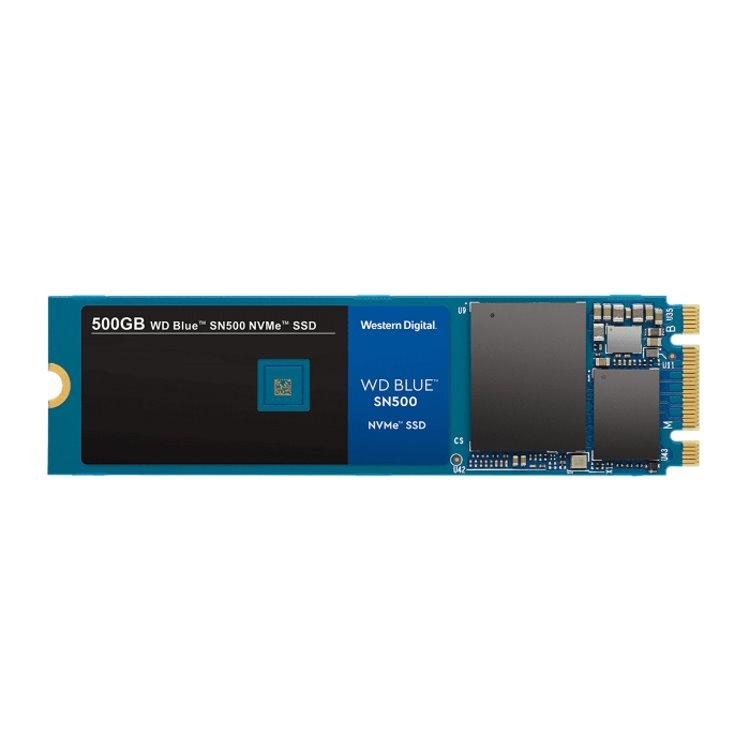 Western Digital SSD SN500 Blue, 500GB, NVMe M.2 - rýchlosť 1700/1450 MB/s (WDS500G1B0C) WDS500G1B0C