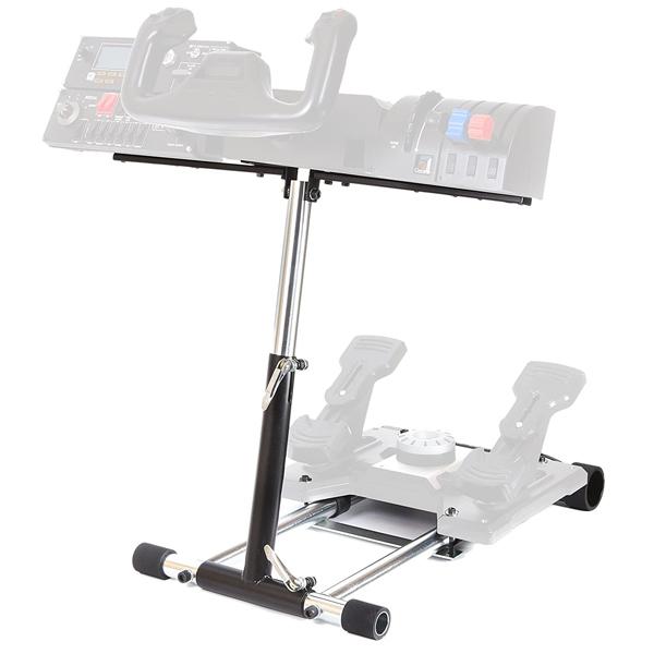 Wheel Stand Pro DELUXE V2, joystick and pedal stand Saitek Pro Rudder, Pro Flight Yoke System saitek