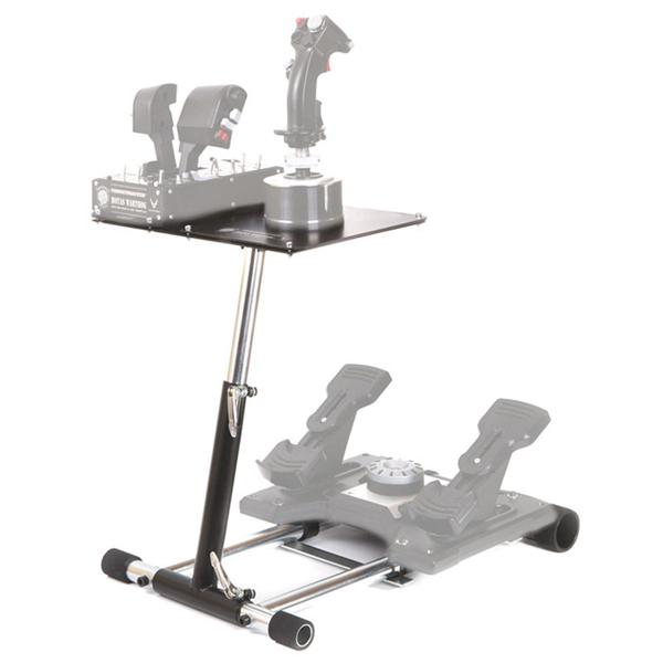 Wheel Stand Pro DELUXE V2, joystick stand for Thrustmaster HOTAS WARTHOG, Saitek X55/Saitek X52 saitek
