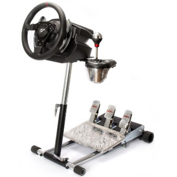 Wheel Stand Pro DELUXE V2, racing wheel and pedals stand for Logitech G25/G27/G29/G920