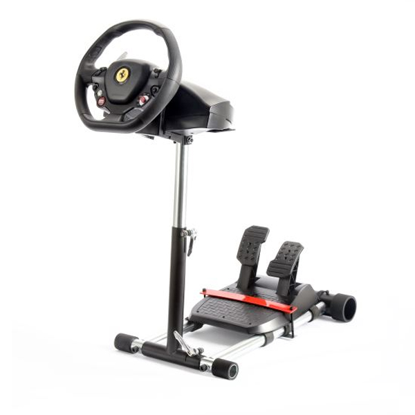 Wheel Stand Pro DELUXE V2, racing wheel and pedals stand for Logitech GT /PRO /EX /FX a Thrustmaster T150 saitek