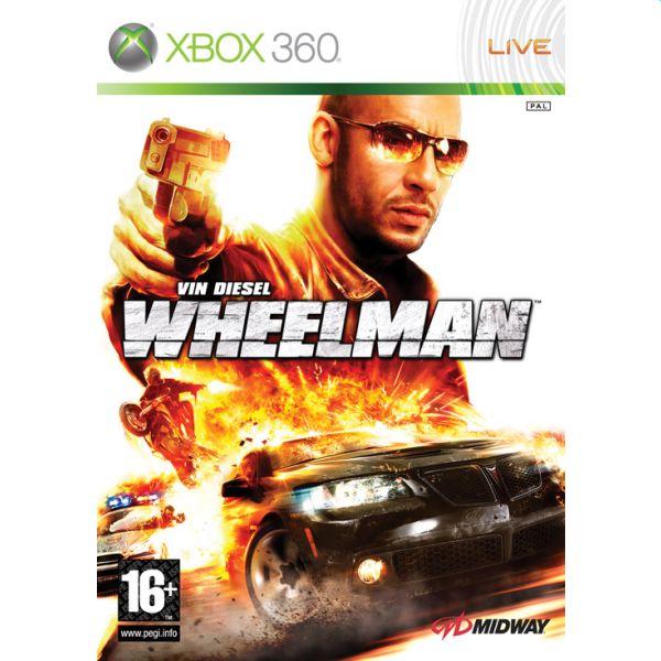 Wheelman - XBOX 360- BAZÁR (použitý tovar)