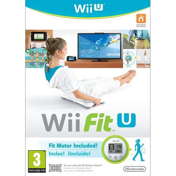 Wii Fit U + Fit Meter, Green Wii U