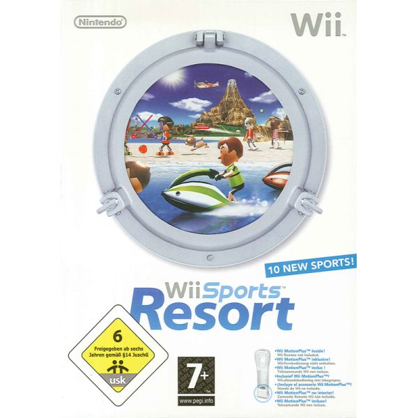 Wii Sports Resort + MotionPlus