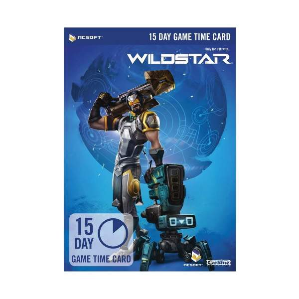 WildStar 15 Day Game Time Card