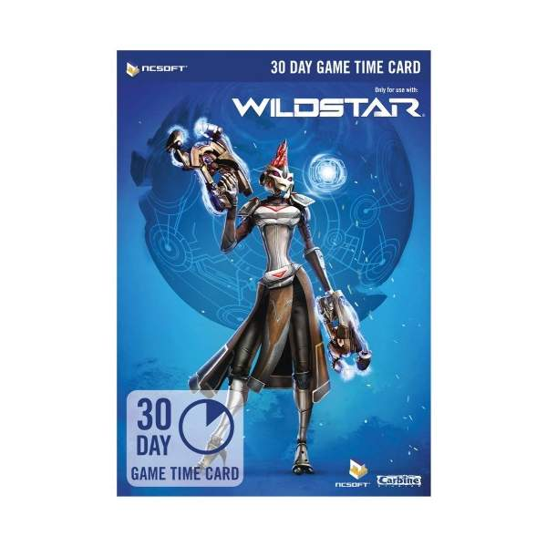 WildStar 30 Day Game Time Card