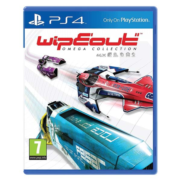 WipEout Omega Collection [PS4] - BAZÁR (použitý tovar)