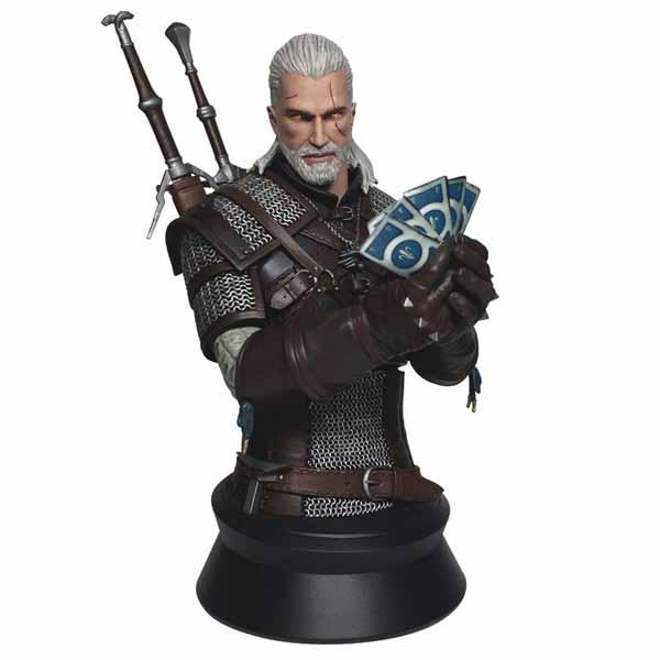 Witcher 3: Wild Hunt  Bust - Geralt of Riva