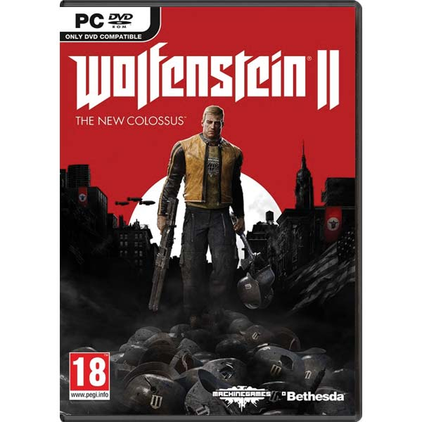 Wolfenstein 2: The New Colossus PC CD-key