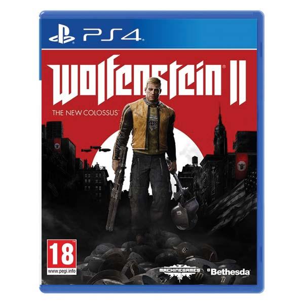 Wolfenstein 2: The New Colossus [PS4] - BAZÁR (použitý tovar)