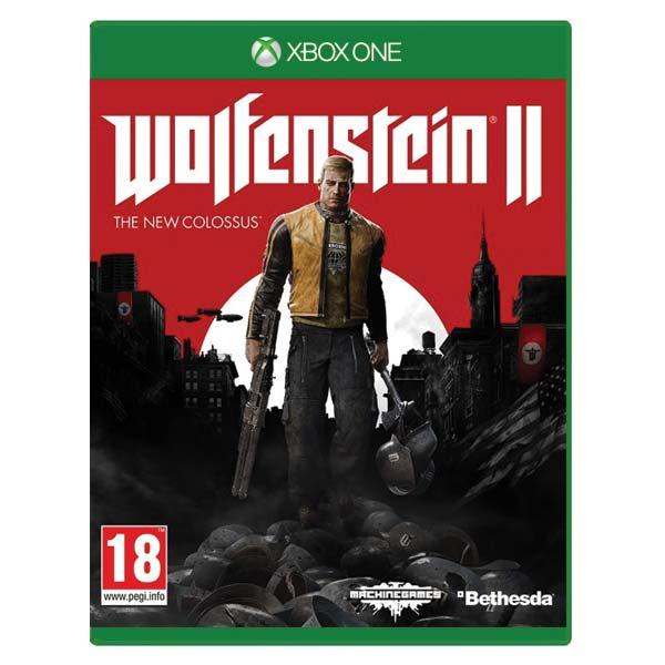 Wolfenstein 2: The New Colossus [XBOX ONE] - BAZÁR (použitý tovar)
